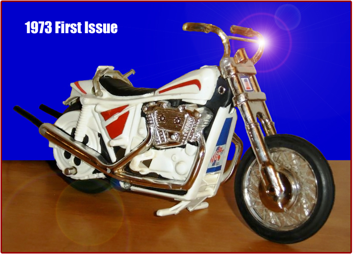 1970's Evel Knievel Stunt Cycles