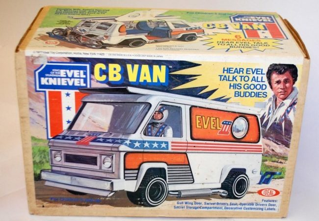 1977 EVEL KNIEVEL CB VAN BY IDEAL