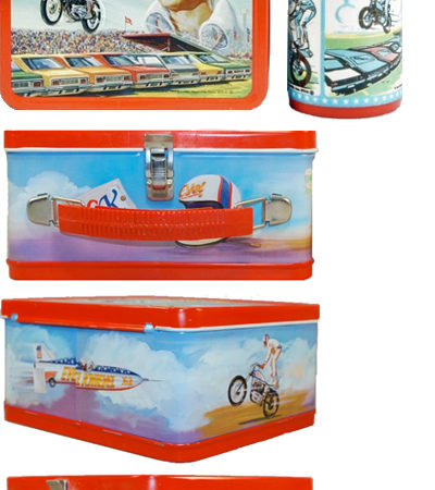 1974 Evel Knievel Lunch Box