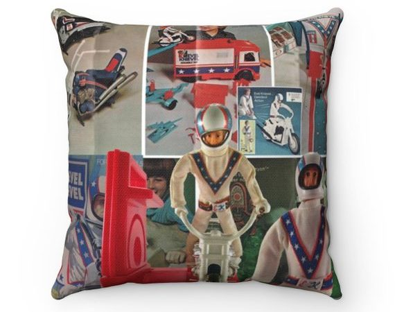 Evel Knievel Stunt Cycle Toys Pillow
