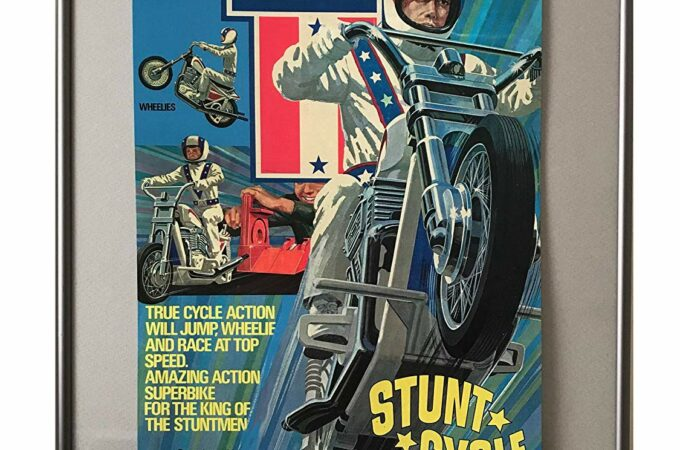 Evel Knievel Stunt Cycle Poster
