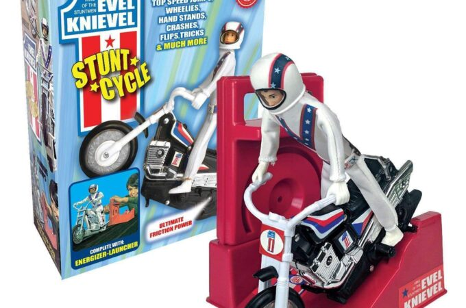 2020 Evel Knievel Stunt Cycle Reissue by California Creations